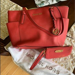 Michael Kors CORAL color purse